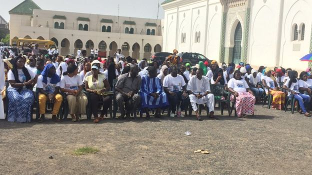 mobilisation Dakar