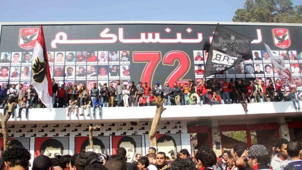 اشتباكات الألتراس الشرطه المصريه