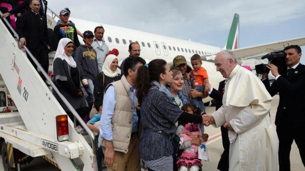Evropská migrační krize je podle papeže Františka největší tragédií od 2. světové války