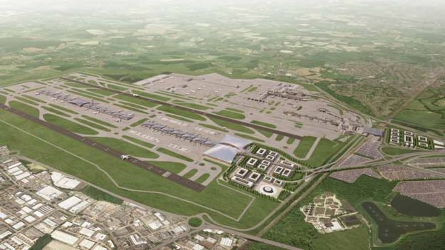 Latest Gatwick expansion image