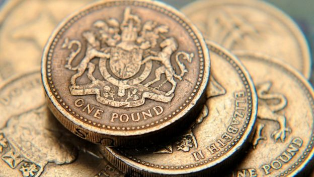 Madeni bir poundlar
