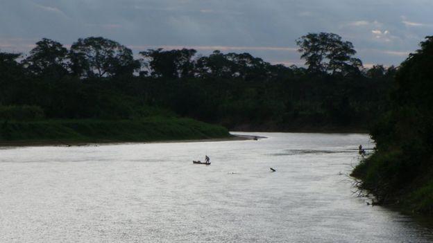 Río de la amazonía boliviana