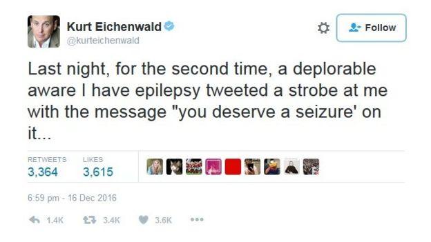 Kurt Eichenwald en Twitter