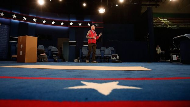 Preparativos rumbo al segundo debate presidencial.