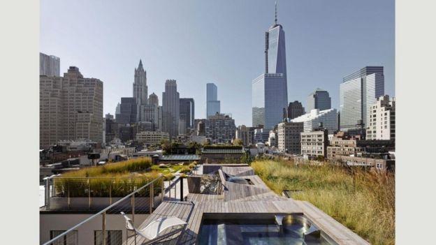 Jardines de Penthouses, Nueva York