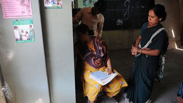 India tuberculosis clinic