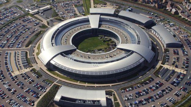 مقر جهاز الاستخبارات جي سي إتش كيو في لندن