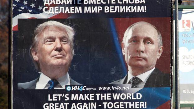 La cercanía entre el presidente electo de EE.UU., Donald Trump, y el mandatario ruso, Vladimir Putin, es inédita en la historia de ambas potencias.