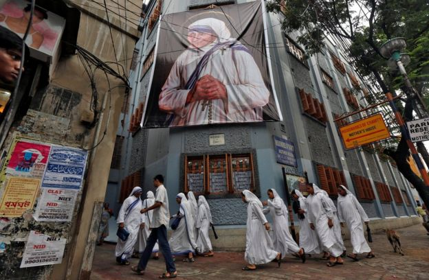 Mother Teresa nuns * Reuters * BBC