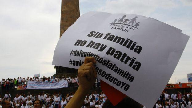 marcha contra el matrimonio gay en Guadalajara.