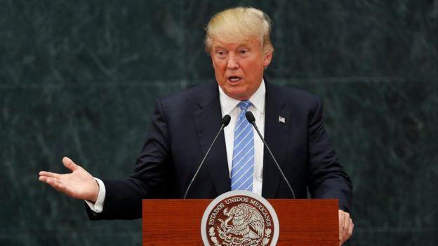 Donald Trump en México