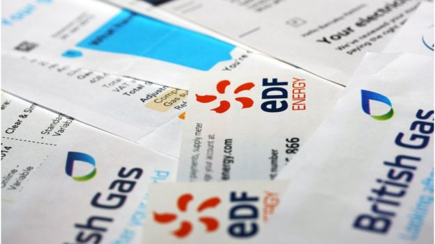 EDF and British Gas bills