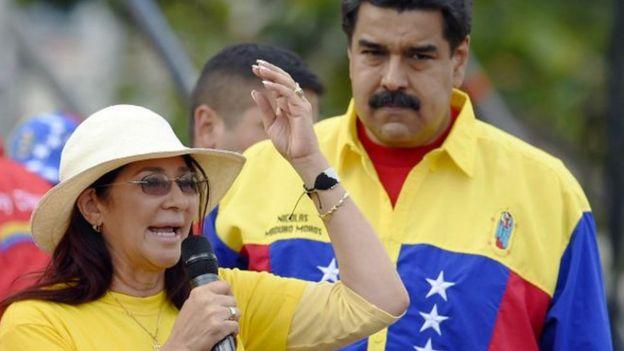 Según Cilia Flores, diputada venezolana y esposa del presidente Nicolás Maduro (juntos en la imagen), sus sobrinos fueron