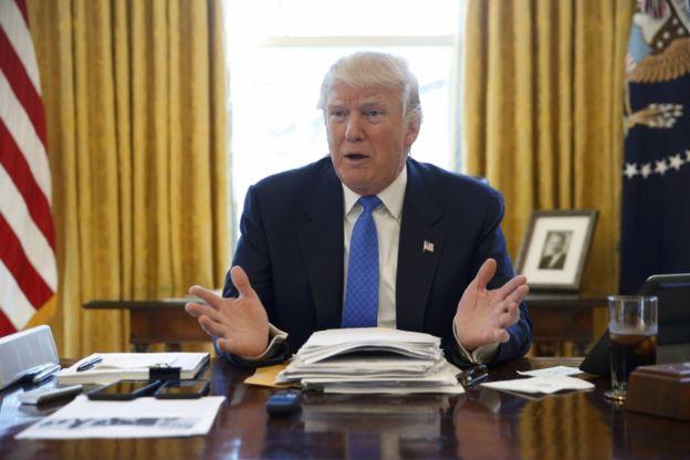 Trump insiste en que quiere expulsar del país a las