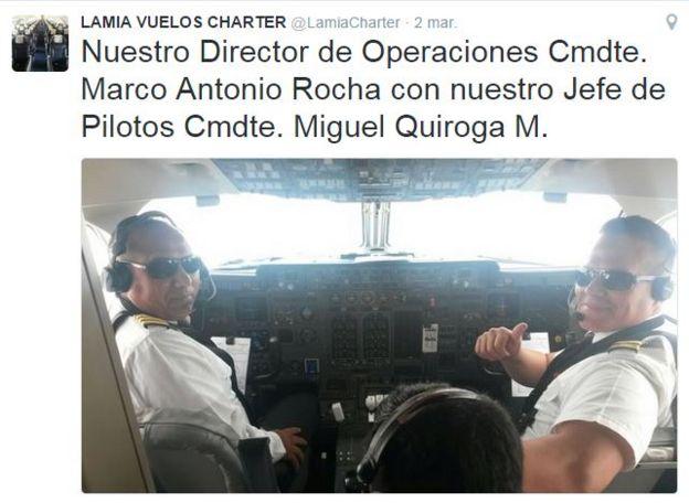 Marco Antonio Rocha y Miguel Quiroga