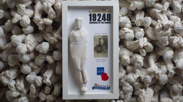 Rob Heard WW1 figurines project