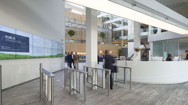 Tomorrow's buildings: Is world's greenest office smart? ilicomm Technology Solutions