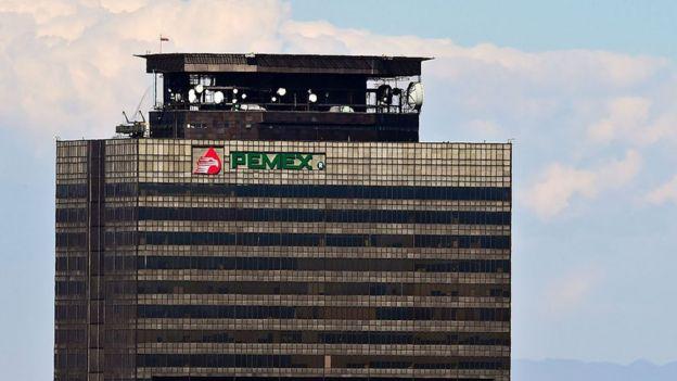 Sede de Pemex en Ciudad de México