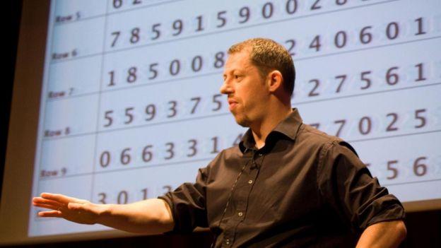Mark Channon hafıza geliştirme teknikleri öğretiyor.