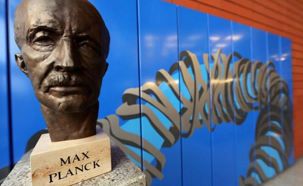 Busto de Max Planck
