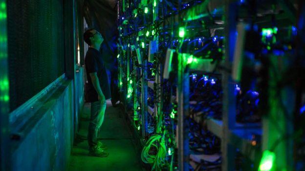 cadena de bitcoins en China