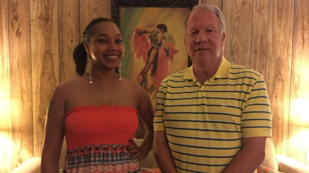 Mayor Danny Turner and Mellissia Jennise Giles