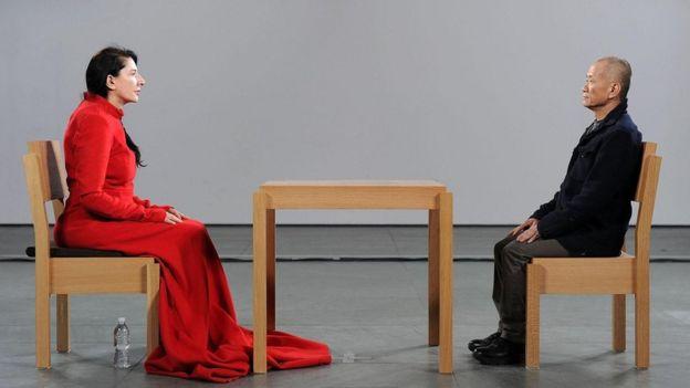 Marina Abramoviç, 'Sanatçı Aramızda'