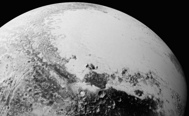 Synthetic view of Pluto