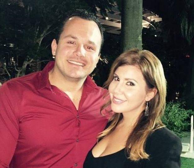 Lisa Marie Naegle and her husband, Derek Harryman