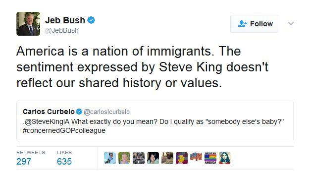 Jeb Bush tweets: