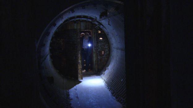 Entrada do bunker
