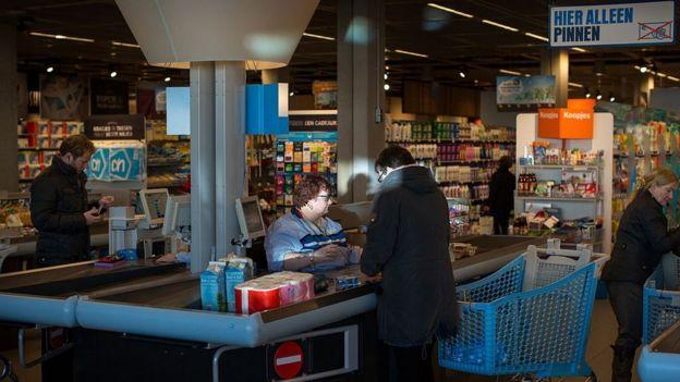 Supermercado Albert Heijn en Holanda