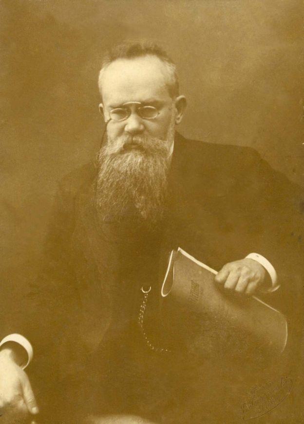 Голова Української Центральної Ради Михайло Грушевський. 1917 р.