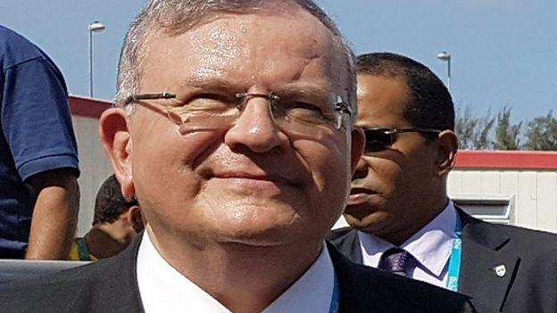 Greek ambassador to Brazil, Kyriakos Amiridis