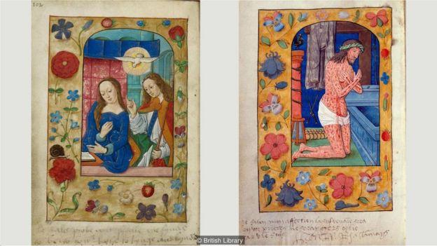 Libro de las Horas, con anotaciones de Ana Bolena y Enrique VIII