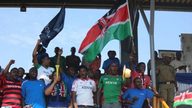 Mashabiki wa Kenya