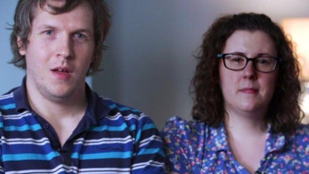 Claire y Jamer Weir