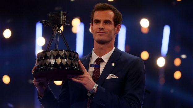 Andy Murray wins SPOTY award