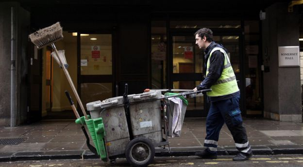 Street cleaner, UK