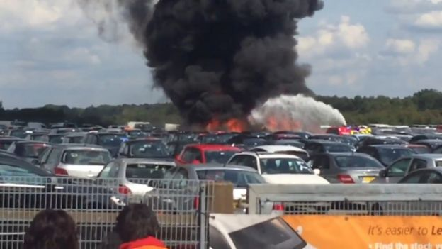 Blackbushe crash