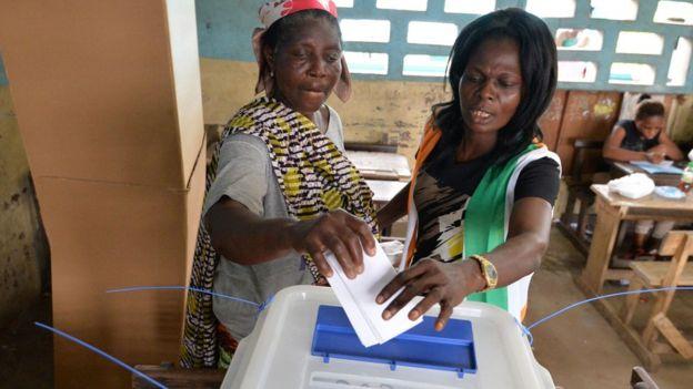 Les Ivoiriens ont davantage voté à l'intérieur du pays qu'à Abidjan.