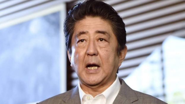 Bw Shinzo Abe.