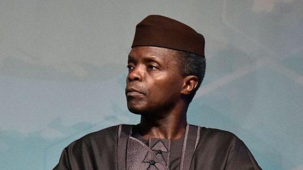 Nigerian vice-president Yemi Osinbajo