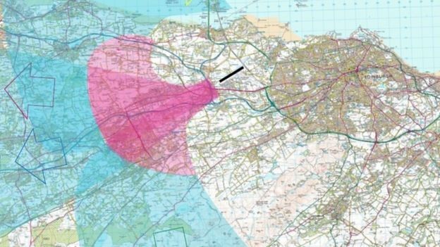 Flight areas being looked at in the consultation