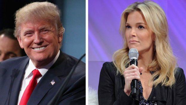 Donald Trump y Megyn Kelly