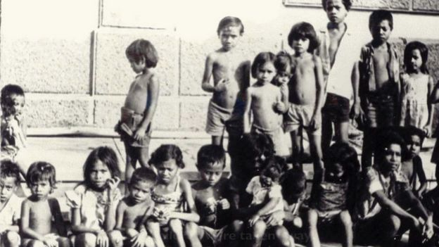 Children, as young as six, were recruited and tasked with transporting supplies, carrying ammunition, and serving as guides in the jungles of East Timor