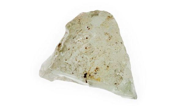 Pedazo de mineral de berilio.
