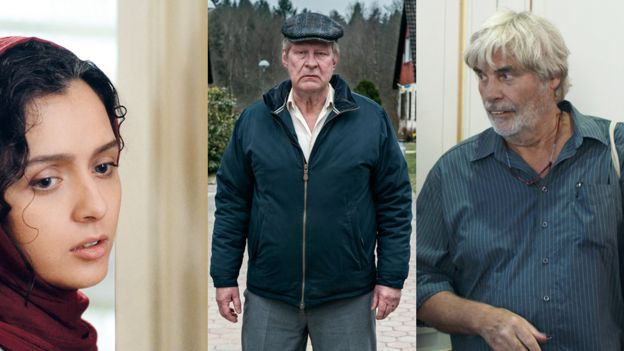 Fotogramas de The Salesman, A Man Called Ove y Toni Erdmann
