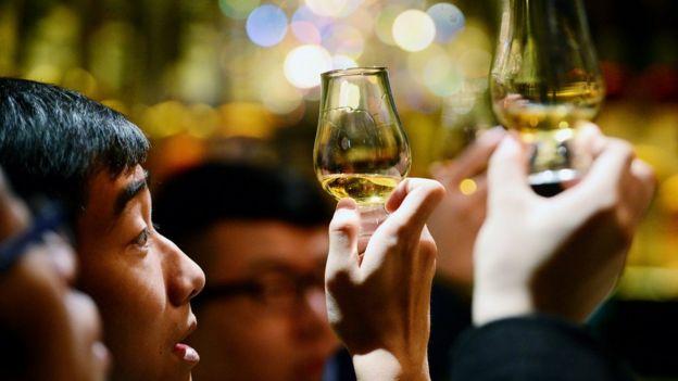 Cata de whisky en mercados asiáticos