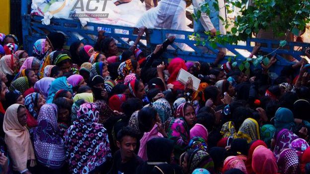 Bantuan ACT untuk Rohingya